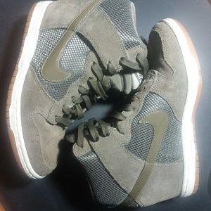Shoes - Nike Sky Hi Dunk Wedges Sz 8